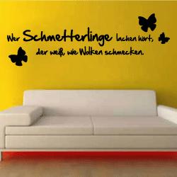 wandtattoos wandtattooneue wandtattoo spr che wandtattoos. Black Bedroom Furniture Sets. Home Design Ideas