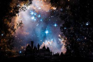 Ein Wandtattoo Sterne