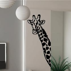 Wandaufkleber einer Giraffe